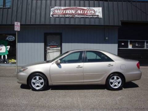 2003 Toyota Camry for sale at Motion Autos in Longview WA