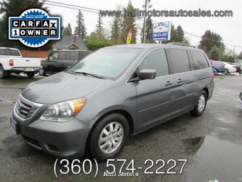 2010 Honda Odyssey for sale at Hall Motors LLC in Vancouver WA