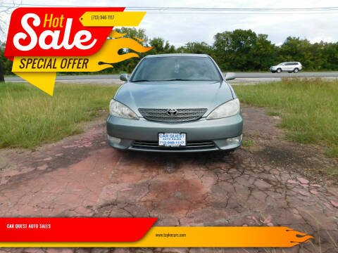 2006 Toyota Camry for sale at CAR QUEST AUTO SALES in Houston TX
