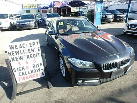 2015 BMW 5 Series for sale at 4530 Tip Top Car Dealer Inc in Bronx NY