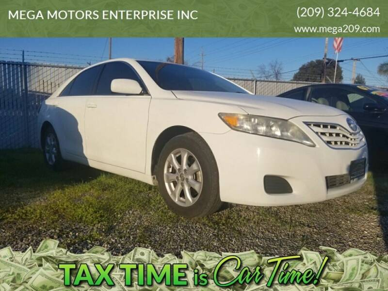 2011 Toyota Camry for sale at MEGA MOTORS ENTERPRISE INC in Modesto CA