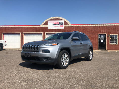 2016 Jeep Cherokee for sale at Family Auto Finance OKC LLC in Oklahoma City OK