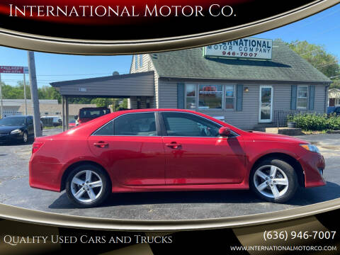 2014 Toyota Camry for sale at International Motor Co. in St. Charles MO