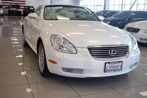 2002 Lexus SC 430 for sale at Legend Auto in Sacramento CA