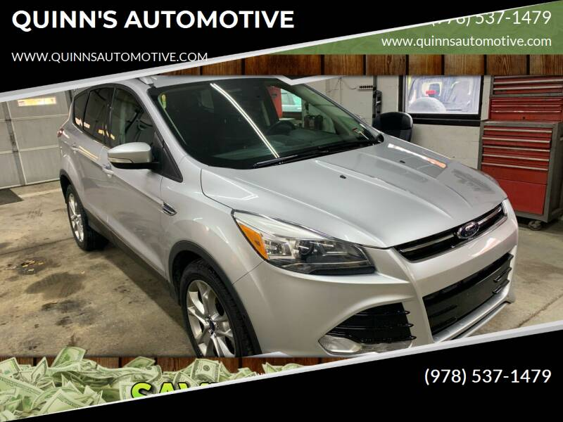 2014 Ford Escape for sale at QUINN'S AUTOMOTIVE in Leominster MA