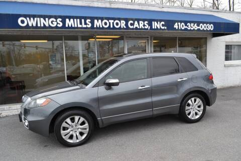 2012 Acura RDX for sale at Owings Mills Motor Cars in Owings Mills MD