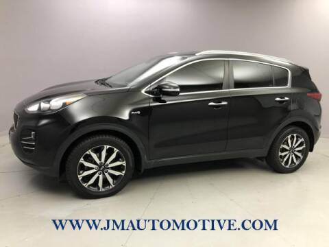 2018 Kia Sportage for sale at J & M Automotive in Naugatuck CT