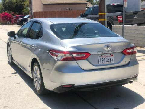 2018 Toyota Camry for sale at Bell Auto Inc in Long Beach CA