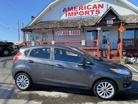 2017 Ford Fiesta for sale at American Imports INC in Indianapolis IN