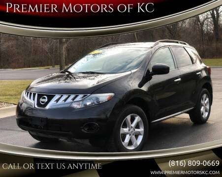 2009 Nissan Murano for sale at Premier Motors of KC in Kansas City MO