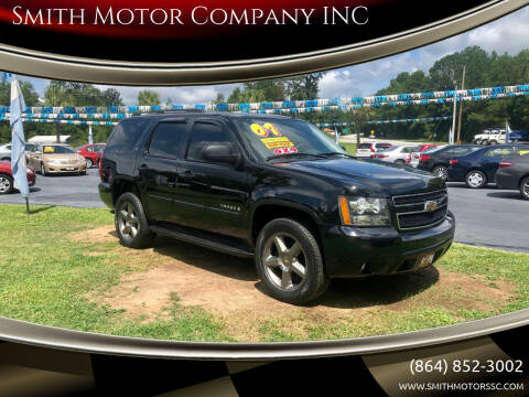 2007 Chevrolet Tahoe for sale at Smith Motor Company INC in Mc Cormick SC