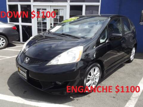 2010 Honda Fit for sale at PACIFICO AUTO SALES in Santa Ana CA