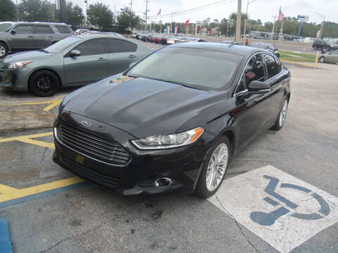2016 Ford Fusion for sale at ORANGE PARK AUTO in Jacksonville FL