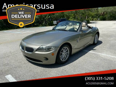 2005 BMW Z4 for sale at Americarsusa in Hollywood FL