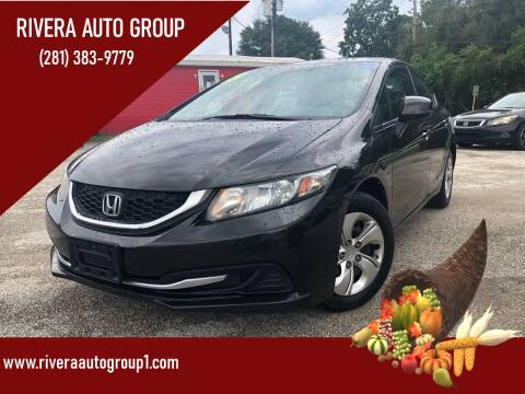 2013 Honda Civic for sale at Rivera Auto Group in Spring TX