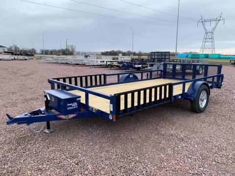2021 H&H Rail Side 82x14 ATV #9700 for sale at Prairie Wind Trailers, LLC in Harrisburg SD