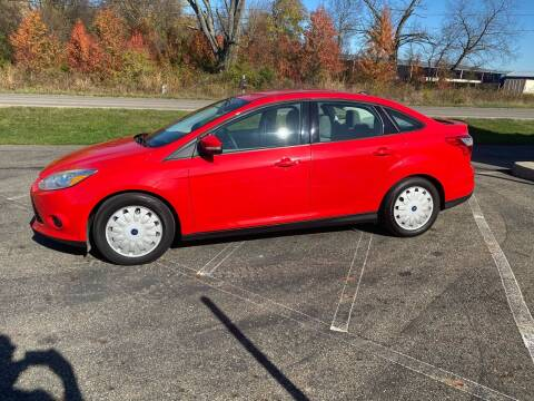 2014 Ford Focus for sale at Rick's R & R Wholesale, LLC in Lancaster OH
