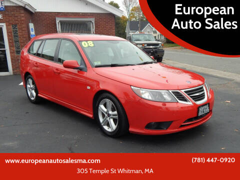 2008 Saab 9-3 for sale at European Auto Sales in Whitman MA