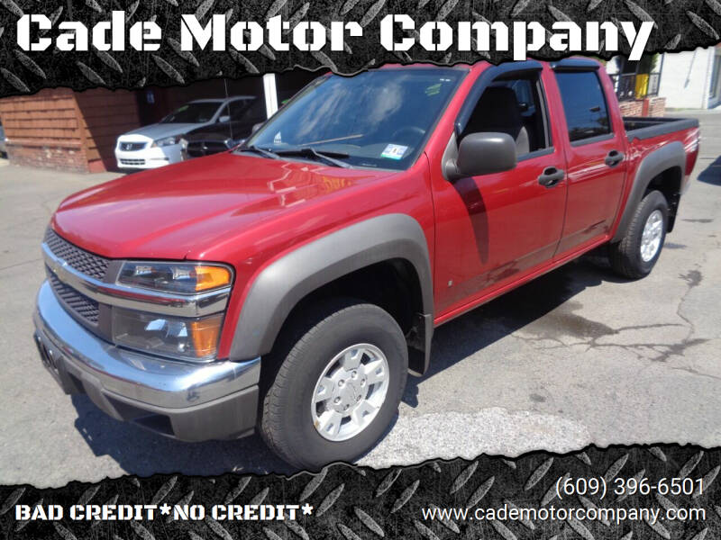 2006 Chevrolet Colorado for sale at Cade Motor Company in Lawrence Township NJ