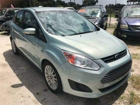 2013 Ford C-MAX Hybrid for sale at SKYLINE AUTO SALES LLC in Winter Haven FL