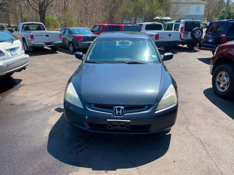 2003 Honda Accord for sale at Vuolo Auto Sales in North Haven CT