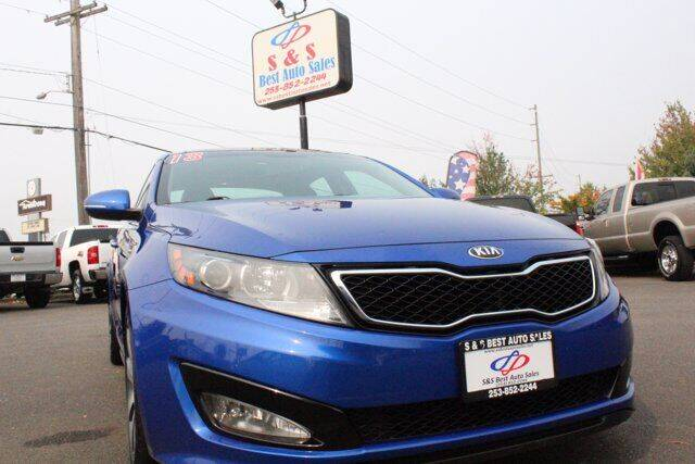 2013 Kia Optima for sale at S&S Best Auto Sales LLC in Auburn WA