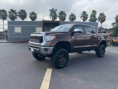 2017 Toyota Tundra for sale at Barrett Auto Gallery in San Juan TX