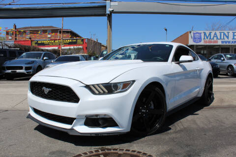 2017 Ford Mustang for sale at MIKEY AUTO INC in Hollis NY