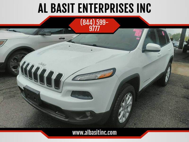 2015 Jeep Cherokee for sale at AL BASIT ENTERPRISES INC in Riverside CA