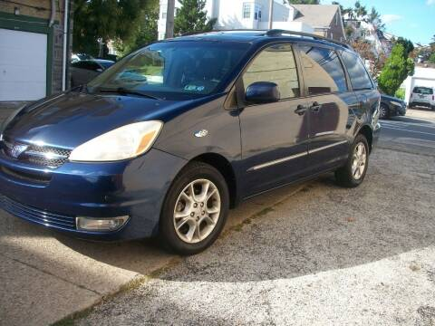 2005 Toyota Sienna for sale at J Michaels Auto Sales Inc in Philadelphia PA