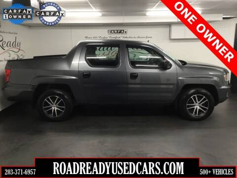 2011 Honda Ridgeline for sale at Road Ready Used Cars in Ansonia CT