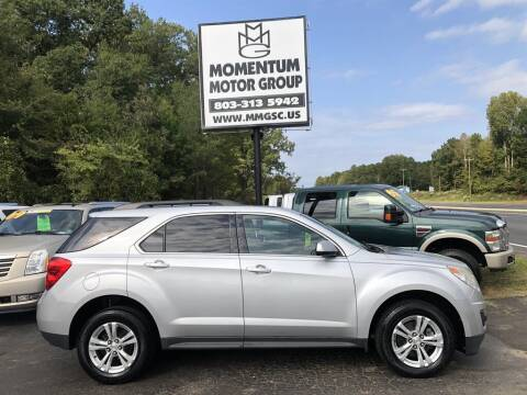 2012 Chevrolet Equinox for sale at Momentum Motor Group in Lancaster SC