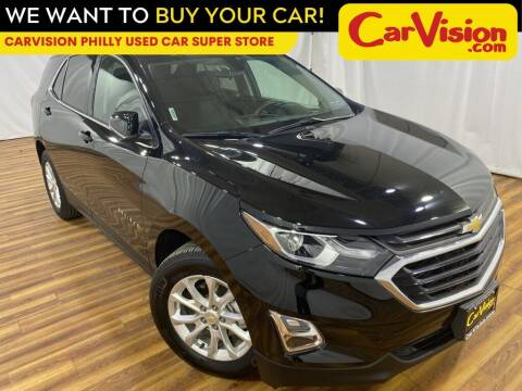 2018 Chevrolet Equinox for sale at Car Vision Mitsubishi Norristown - Car Vision Philly Used Car SuperStore in Philadelphia PA