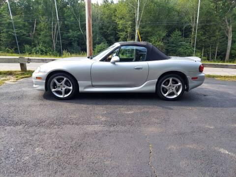 2003 Mazda MX-5 Miata for sale at Route 4 Motors INC in Epsom NH