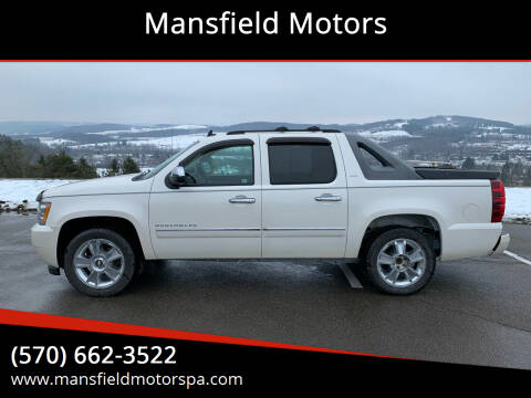 2010 Chevrolet Avalanche for sale at Mansfield Motors in Mansfield PA