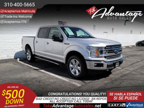 2018 Ford F-150 for sale at ADVANTAGE AUTO SALES INC in Bell CA
