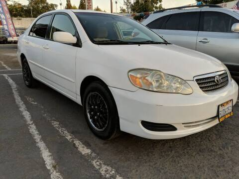 2006 Toyota Corolla for sale at Best Deal Auto Sales in Stockton CA