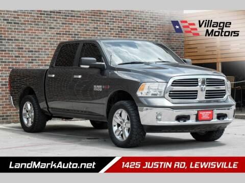 2016 RAM Ram Pickup 1500 for sale at Village Motors in Lewisville TX