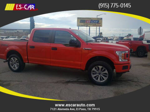 2018 Ford F-150 for sale at Escar Auto - 9809 Montana Ave Lot in El Paso TX
