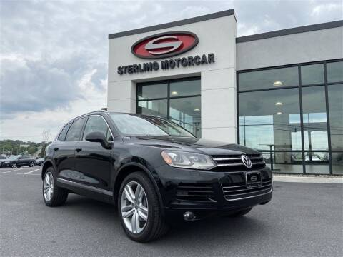 2013 Volkswagen Touareg for sale at Sterling Motorcar in Ephrata PA