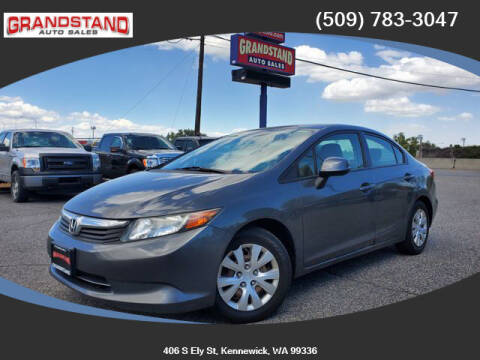 2012 Honda Civic for sale at Grandstand Auto Sales in Kennewick WA