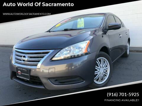 2014 Nissan Sentra for sale at Auto World of Sacramento Stockton Blvd in Sacramento CA