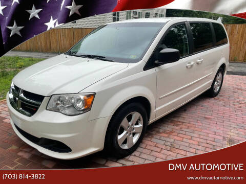 2013 Dodge Grand Caravan for sale at DMV Automotive in Falls Church VA