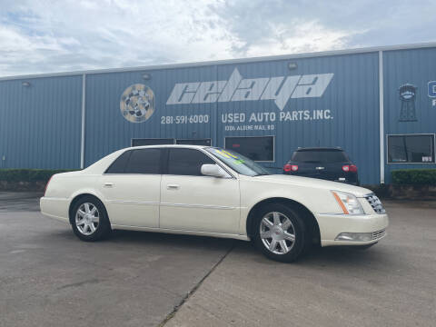 2008 Cadillac DTS for sale at CELAYA AUTO SALES INC in Houston TX