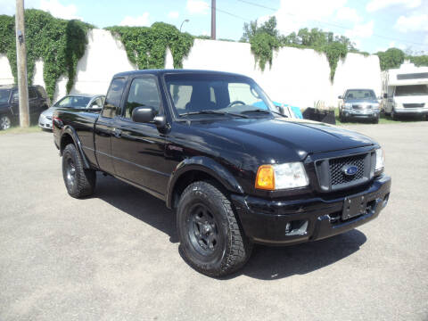 2004 Ford Ranger for sale at Metro Motor Sales in Minneapolis MN