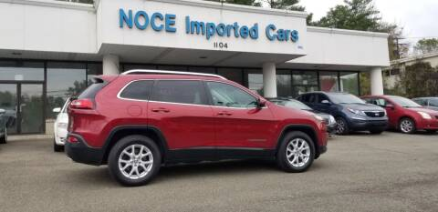2015 Jeep Cherokee for sale at Carlo Noce Imported Cars INC in Vestal NY