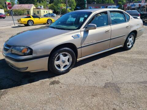 2001 Chevrolet Impala for sale at Johnny's Motor Cars in Toledo OH