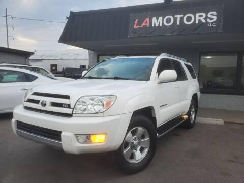 2004 Toyota 4Runner for sale at LA Motors LLC in Denver CO