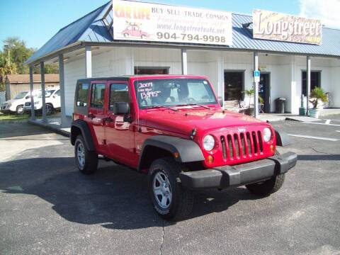2009 Jeep Wrangler Unlimited for sale at LONGSTREET AUTO in St Augustine FL