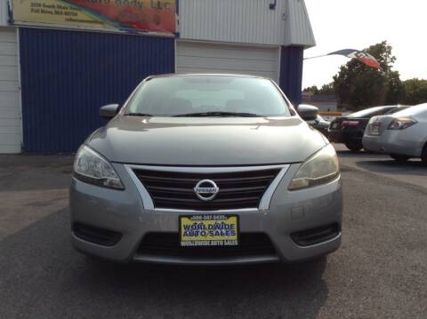 2013 Nissan Sentra for sale at Worldwide Auto Sales in Fall River MA